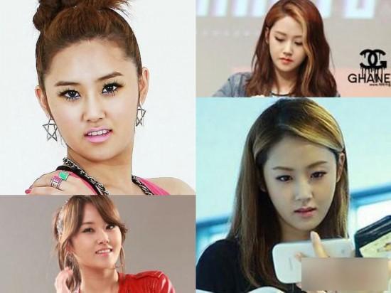 韩国明星李多海整容_韩国女星整容变脸对比照:李多海尹恩惠变化惊人_金鹰网