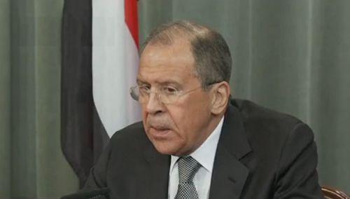 """俄外长指责西方国家""""双重标准"""""""