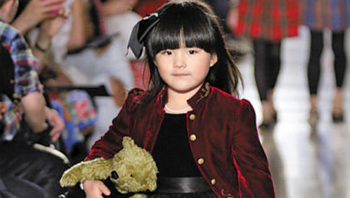 王诗龄纽约注册童装品牌 小妞进军时尚圈