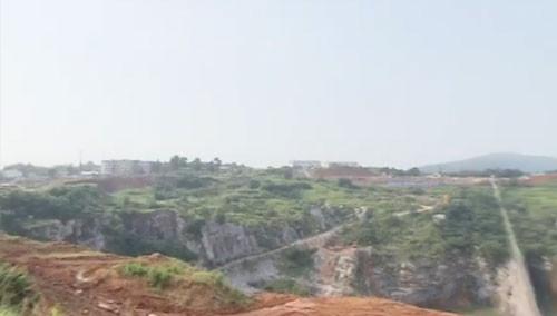 巨型矿坑改作室内冰雪游乐 湘江新区开建湘江欢乐城
