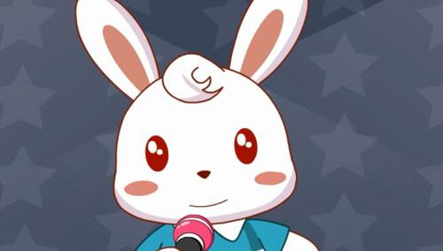 兔子妈妈卡通插画