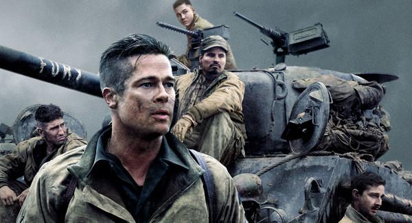 """帅叔布拉德·皮特携""""狂怒""""开启坦克大战,上演兄弟热血,恢弘大气的战斗图片"""