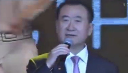 王健林万达年会献歌《霸王别姬》惊艳全场