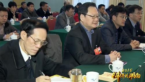 孙金龙参加政协联组讨论