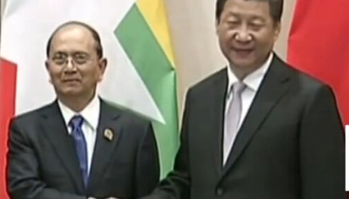 军情急报20150424期:缅甸炮弹再次落入中国境内