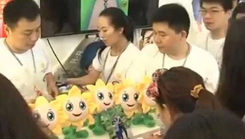 文博会湖南推出手机游戏展区 亲身感受新娱乐体验