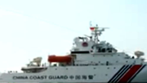 """军情急报20150716期:中国抗议菲律宾修""""坐滩""""军舰"""