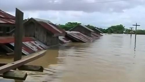 缅甸40年一遇洪灾 已致81人死亡