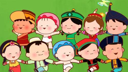 民族大家庭 美丽中国梦