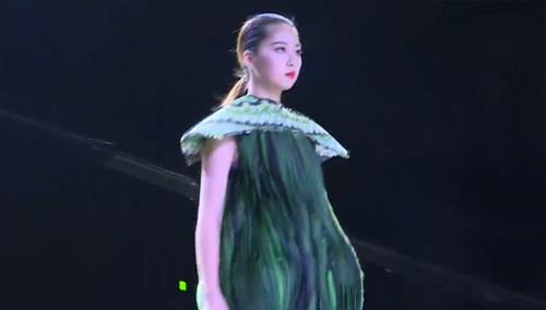 2015时装艺术国际展时装秀上演 作品均出自高校学生之手