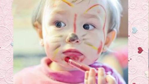 爸爸妈妈可以教宝贝孩子画画